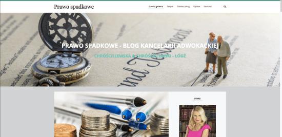 Prawo spadkowe - blog